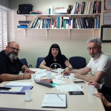 SIETeSS en Murcia se reúne con el director de RRHH del SMS