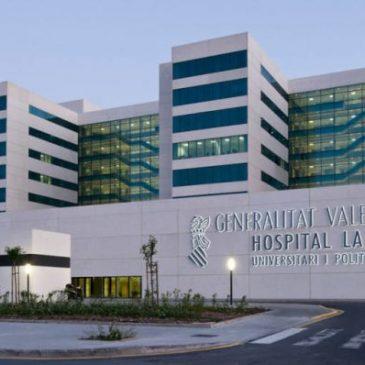 SIETeSS solicita el amparo de los coordinadores técnicos del Hospital La Fe de Valencia
